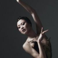 Maiko Nishino as Odile in Swan Lake, The Norwegian National Ballet 2004. Photo: Erik Berg.