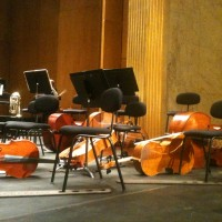 Pause in the Elina Garanca concert at Theatre des Champs Elysee. October 13th. 2012, Photo: Henning Høholt