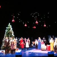 Operasolistenes Julekonsert på Operaen er stemningsfull. Foto: fra applaus Henning Høholt (beklager den dårlige bildekvalitet)