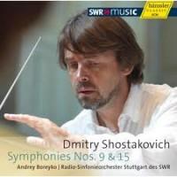 Dmitry Shostakovich Symfoni no 9 and 15. Hänssler Classic new CD.