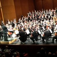 Orchestre and Choir National de France. at the podium Daniele Gatti. Photo: Henning Høholt