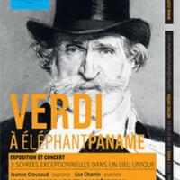 Giuseppe Verdi´200 years jubilee celebrated in Eléphant Paname in Paris until January 5th 2014.