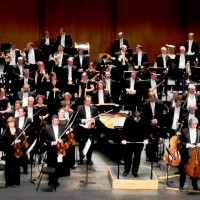 City of Birmingham Symphony Orchestra after Petrouschka Ballet music by Prokofiev at Theatre des Champs Elysees. Photo Henning Høholt