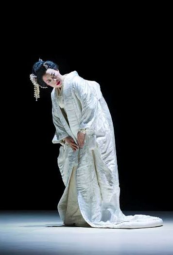Hui He som Madama Butterfly, when she guested The National Opera in Oslo, Foto Jörg Wiesner