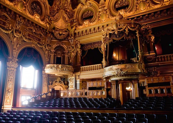 The beautiful opera house of Monte Carlo is designed by French Charles Garnier (Photo Grisoni/Monte Carlo Opera)