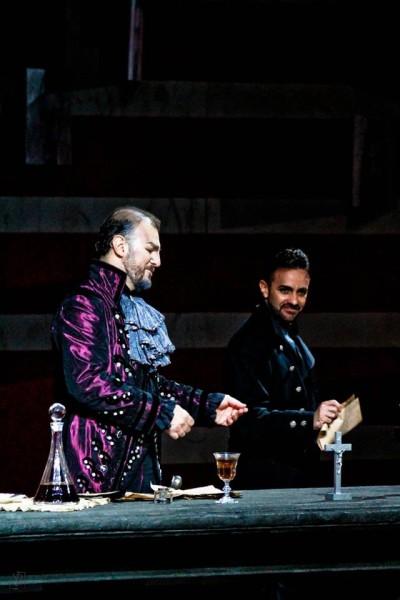 Tosca, Guinis and Tarquini. Foto Festivalo Pucciniano