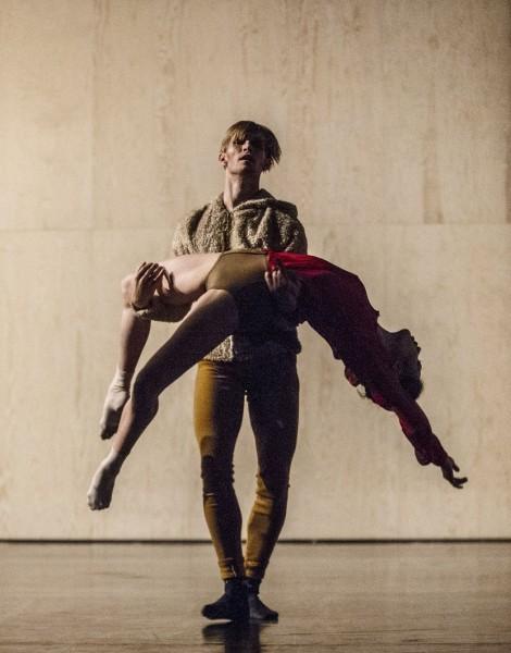 Silas Henriksen og Camilla Spidsøe, foto  Erik Berg