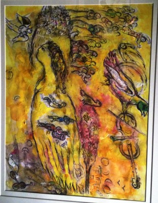 Marc Chagall: Homage a Mozart