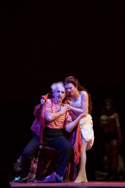 Rigoletto in Firenze.  Stoyanov, Novikova, Foto Alfredo Falvo-Contrasto