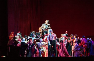 Rigoletto, Magri. Stoyanov. Foto Alfredo Falvo-Contrasto