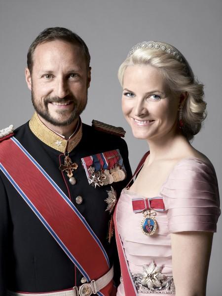 DD.KK.HH. Kronprins Haakon og Kronprinsesse Mette-Marit. Foto Sølve Sundsbø, Det kongelige hoff