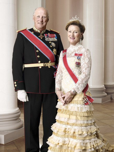 Kong Harald og Dronning Sonja, Foto Sølve Sundsbø, Det kongelige hoff