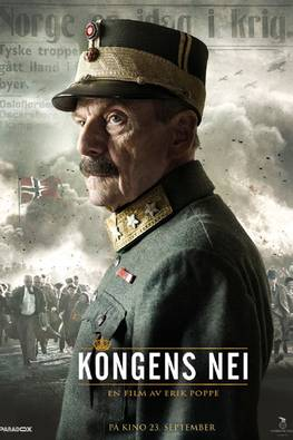 """""""Kongens nei"""" opens in September and is partly financed in Sweden. Photo: filmweb.no"""