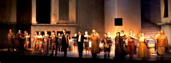 Das Rheingold, Leipzig Oper. Applause foto Henning Høholt