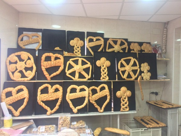 Different kind and forms of popular bread. Bread for all occasions