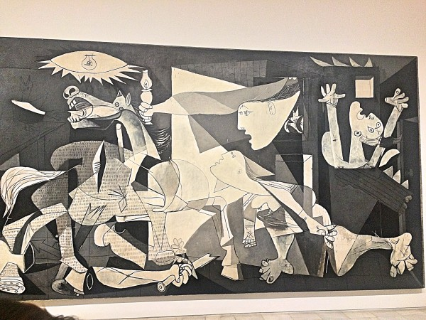 Guernica, right part,