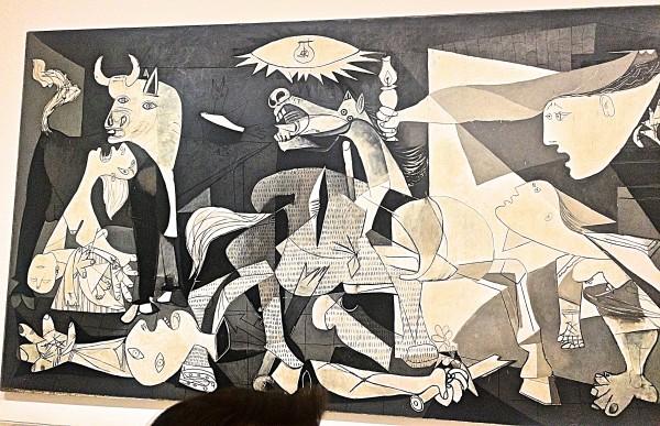 Guernica, left part,
