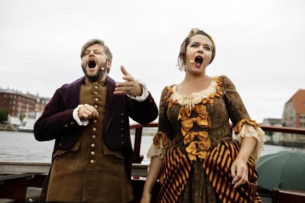 CPH Opera Festival 2017.Operettebåden med sopran Philippa Cold, tenor David Danholt og pianist Jacob Beck på CPH Opera Festival 2017.