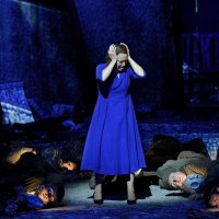 Longing for lover - Nina Stemme in the title role. Photo: Thomas Aurin