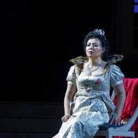 Hui He as Tosca in LUuca, Foto Festival Pucciniano 2017.