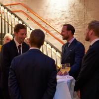 Dagens mottakelse samlet en rekke aktører innenfor norsk musikkbransje. Foto: Andreas Turau © 2017 Ultima 2017