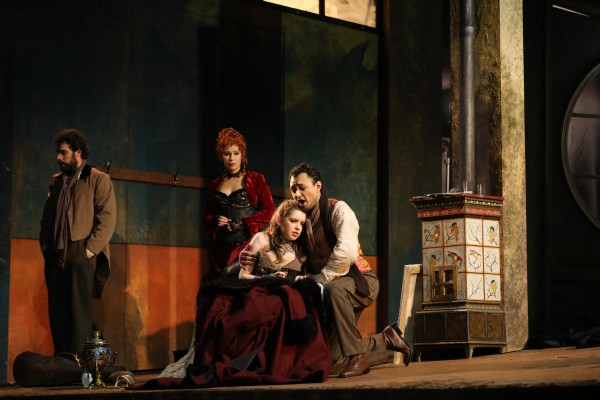 Yana Kleyn and Diego Silva as Mimi and refold, last act.