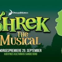 Shrek - the musikal på Hjertnes Kulturhus til og med 15. Oktober.