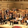 Renaud Capuchon after his excellent performance of Bela Bartoks 22nd. Violin Concerto. Foto: Tomas Bagackas.