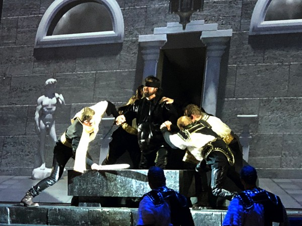 Kristian Benedikt as Samson, last act.