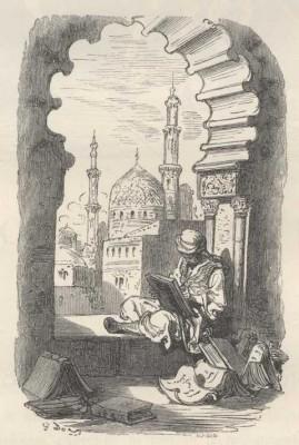 Fra Don Quijote illustrert av Gustav Doré.